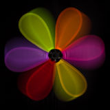 Colorful abstract windmill Royalty Free Stock Photos