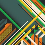Colorful abstraction. Stock Image