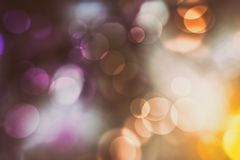 Abstractr bokeh background. Colorful Abstractr bokeh background. christmas blur lights close up stock image