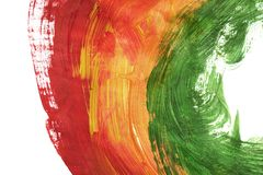 Colorful acrylic painting royalty free stock photo