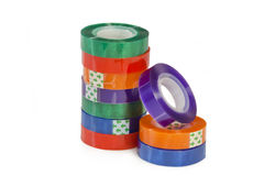 Colorful adhesive tape Royalty Free Stock Photo