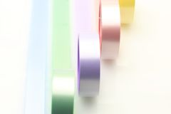 Colorful adhesive tape Stock Image