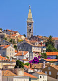 Colorful adriatic town of Losinj Stock Image