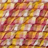 Colorful african peruvian style rug surface close up. Stock Image