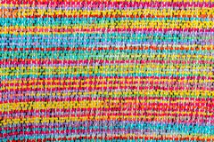 Colorful african peruvian style rug surface Royalty Free Stock Photos