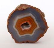 Colorful Agate from Argentina Royalty Free Stock Image