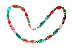 Colorful agate beads Stock Image