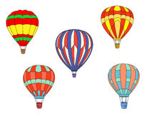 Colorful air balloons Royalty Free Stock Photos