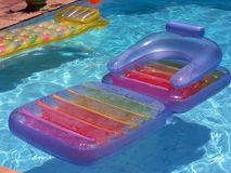 Free Colorful Airbeds Stock Image - 2103871