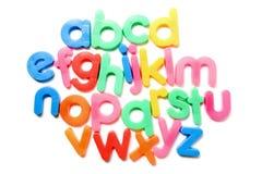 Colorful alphabet. Royalty Free Stock Photo