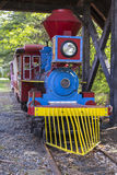Colorful Amusement Park Train Royalty Free Stock Photography