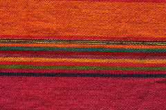 Colorful andean textile Stock Images