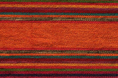 Colorful andean textile royalty free stock photo