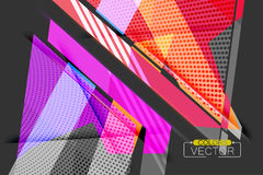 Colorful angle shape scene vector. Abstract wallpaper background vector illustration