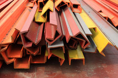 Colorful angle steel Royalty Free Stock Photography