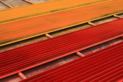 Colorful angle steel Stock Photography