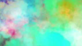 Colorful animated smoke background, best use in festivals, promos, corporate presentation, music concert stock footage