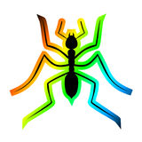 Colorful ant Royalty Free Stock Photography