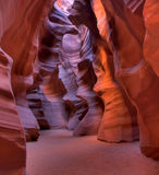 Colorful Antelope Canyon Royalty Free Stock Images