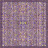 Colorful antique rug Royalty Free Stock Images