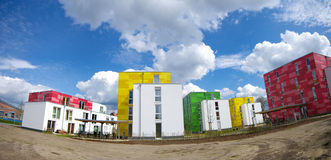 Colorful apartments Stock Photo