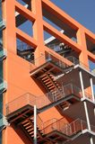 Colorful apartments block Royalty Free Stock Photography