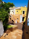 Colorful Apartments in Majorca Stock Photography