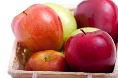 Colorful apples. For healthy eating Royalty Free Stock Image