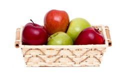 Colorful apples Royalty Free Stock Images