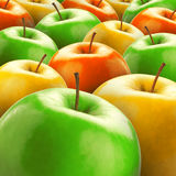 Colorful apples Royalty Free Stock Photography