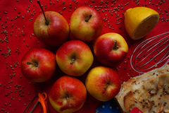 Colorful apples Stock Images