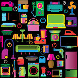 Colorful appliance Stock Image