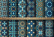 Colorful Arabesque Patterns Royalty Free Stock Photos