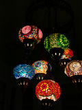 Colorful arabic lantern Stock Image