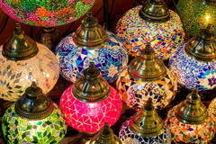 Colorful arabic laterns Royalty Free Stock Photography