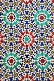 Colorful arabic mosaics Stock Photo