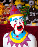 Colorful Arcade Clown Royalty Free Stock Image