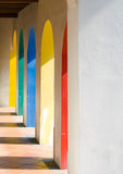 Colorful Arches Royalty Free Stock Photos
