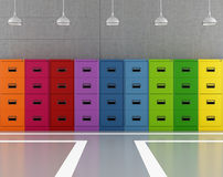 Colorful archive Royalty Free Stock Photos