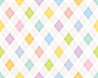Colorful argyle pattern. Stock Photo