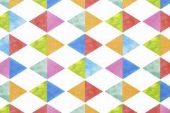 Colorful Argyle Seamless Pattern Stock Photo