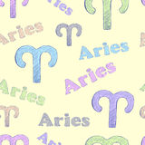 Colorful Aries Royalty Free Stock Images