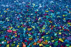 Colorful Rocks and Stones for Background stock photo