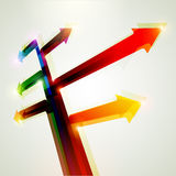 Colorful arrow Royalty Free Stock Photo
