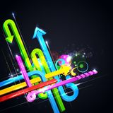 Colorful Arrow Royalty Free Stock Images