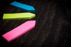 Colorful arrows Royalty Free Stock Image
