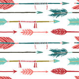 Colorful arrows background Royalty Free Stock Photos