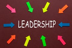 Leadership Word Concept royalty free stock photo