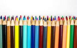 Colorful Art Pencils Stock Photography