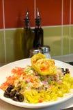 Colorful artichoke salad Royalty Free Stock Photos